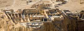 Masada, la fortaleza de Herodes