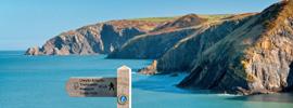 Desafía a las alturas en la costa de Gales