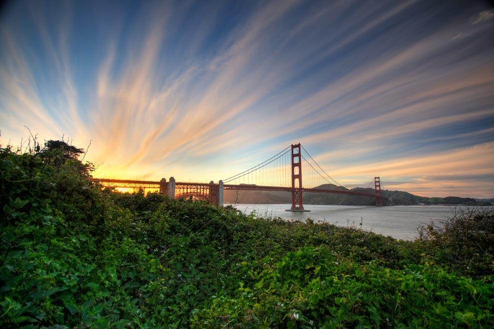 Un homenaje al Golden Gate