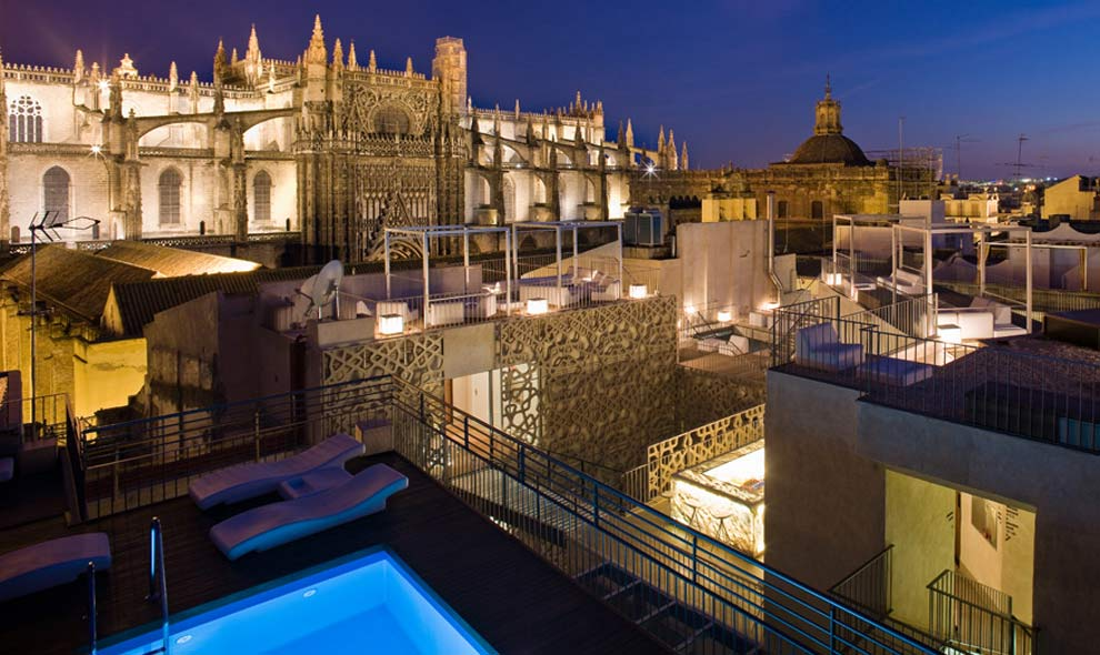 Estas son las terrazas que arrasan este verano - Terraza hotel eme ...