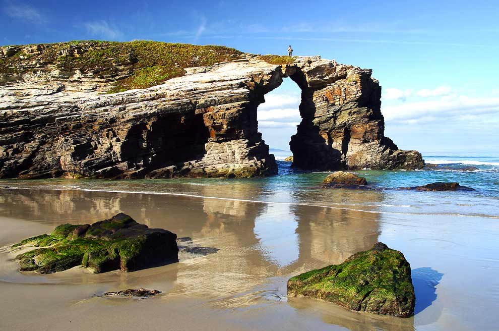 Image result for As Catedrais beach