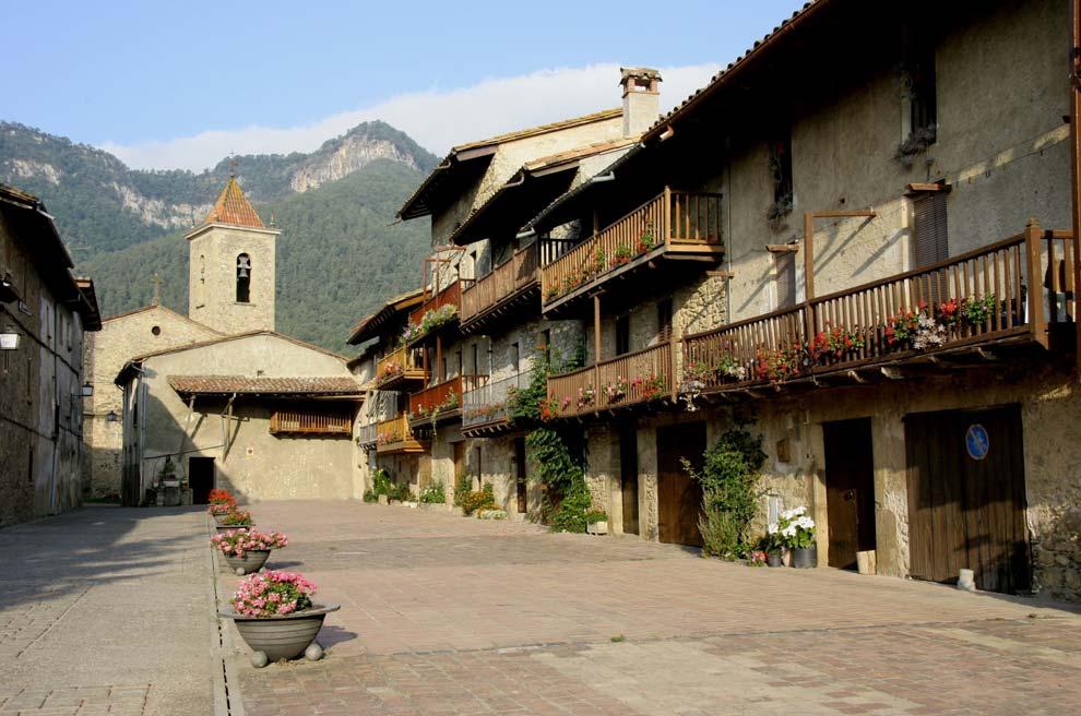 Pueblos de otra época en el Baix Empordà