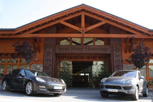 En porsche por el pirineo andorrano - Hotel ermitage andorra ...