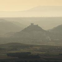 En globo sobre los viñedos de la Ribera del Duero