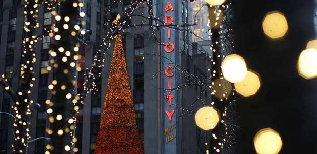 Nueva York está espléndida esta Navidad