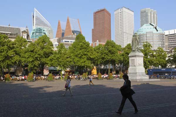 La Haya, en el año de la monarquía holandesa