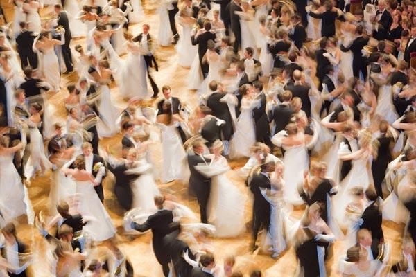 Dos mil horas bailando en Viena
