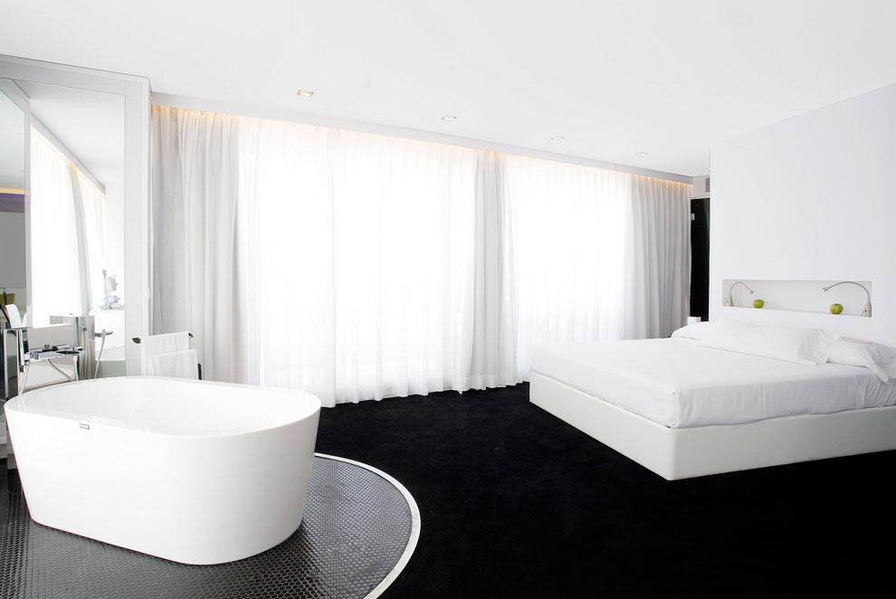 A punto de comenzar las pasarelas 10 hoteles espa oles for Hoteles diseno paris