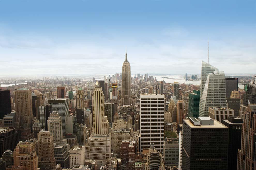 La ciudad de Nueva York es uno de los escenarios urbanos más fotografiados. 54d912c8505