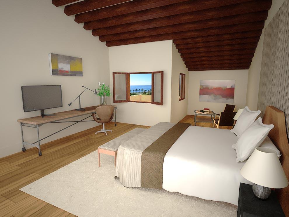 Lujo cinco estrellas asomado a la bah a de palma for Hoteles con habitaciones comunicadas