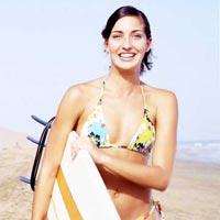 El surf también es un deporte para chicas