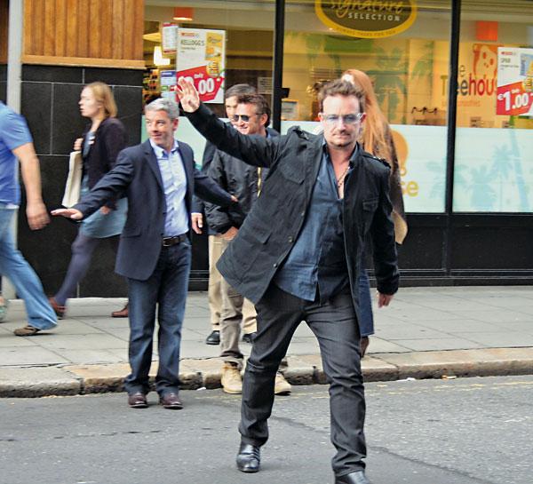 El Dublín de Bono, en el día de San Patricio