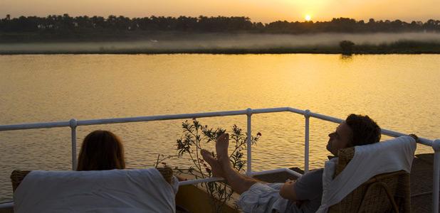Un crucero en imágenes por las aguas del Nilo