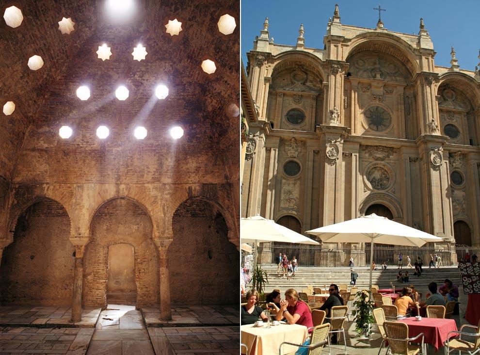 Baño Arabe Granada San Miguel: el fondo insigne del Hospital Real y el monumento a San Juan de Dios