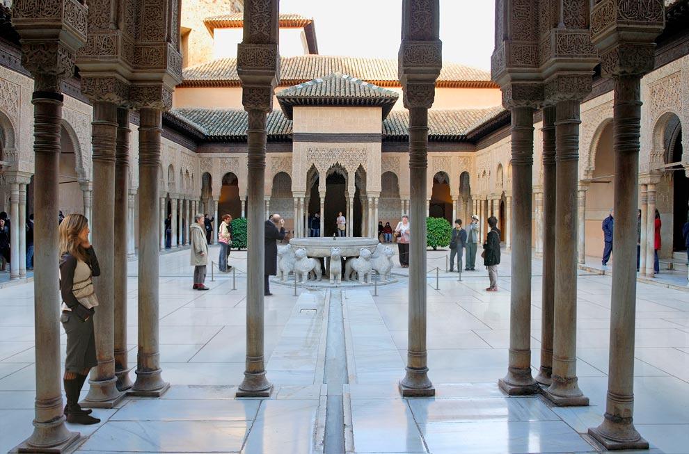 El nuevo patio de los Leones y otros secretos de Granada