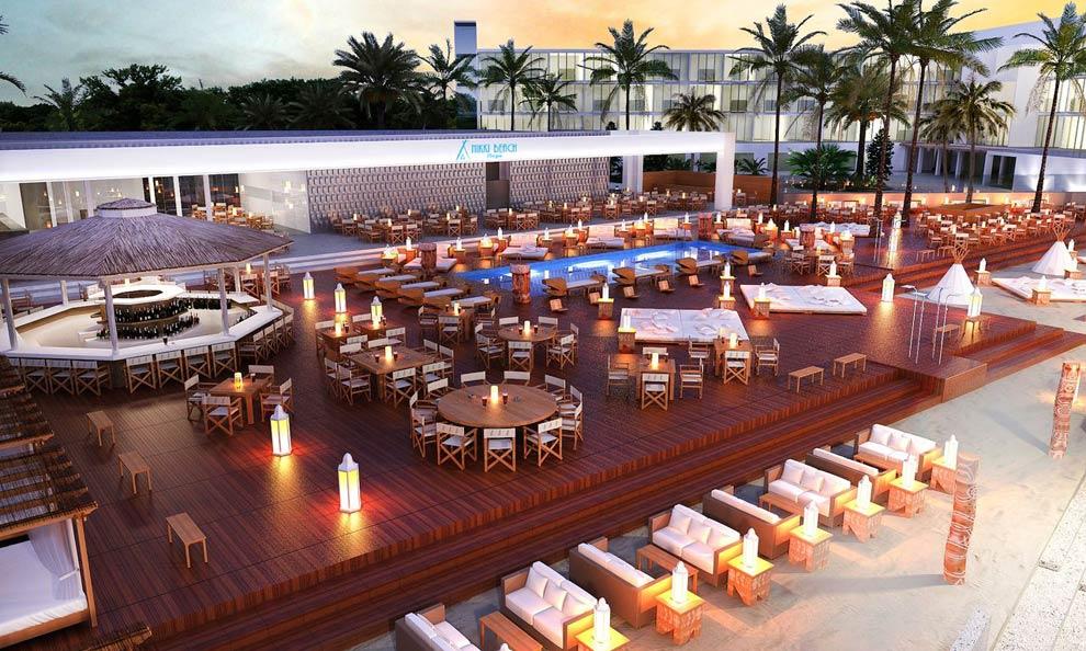 Los mejores beach clubs para las noches de verano for Bar jardin barcelona