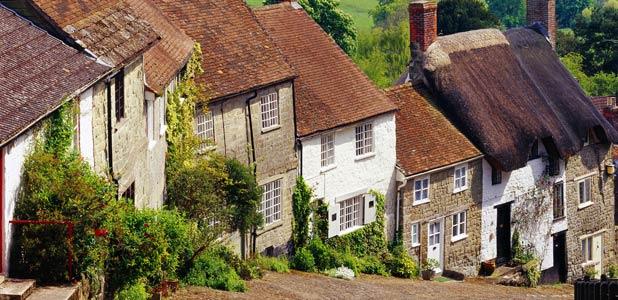 Historias de la buc lica campi a inglesa - Imagenes de casas inglesas ...