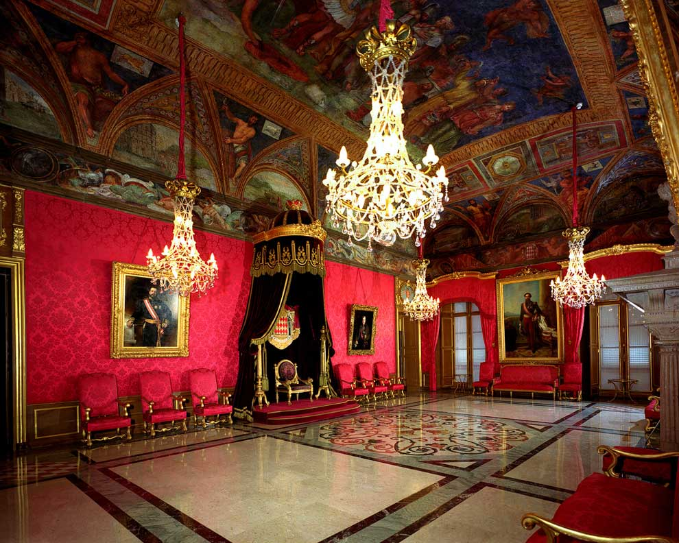M naco el coraz n del lujo - Salle du trone versailles ...