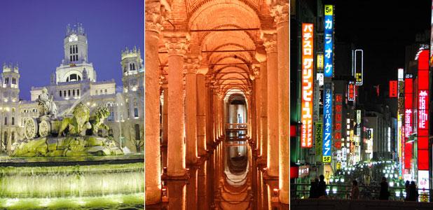 El 'top ten' de las tres ciudades que sueñan con ser olímpicas