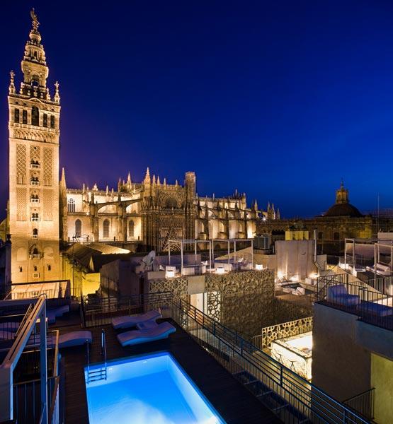 Lo m s 39 cool 39 en sevilla ideas a la ltima para un s bado perfecto - Terraza hotel eme ...