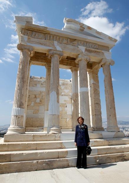 Rincones de la Reina Sofía en Atenas