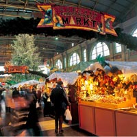 Mercadillos navideños de Suiza, una fiesta de aromas, luces y colores