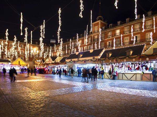 Ideas para fugarse y disfrutar del final de a o - Mercado de navidad en madrid ...