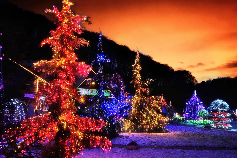 Un cuento de navidad en zagreb - Paisaje nevado navidad ...