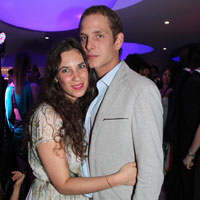 Andrea Casiraghi y Tatiana Santo Domingo, 'sí, quiero' en la exclusiva Gstaad