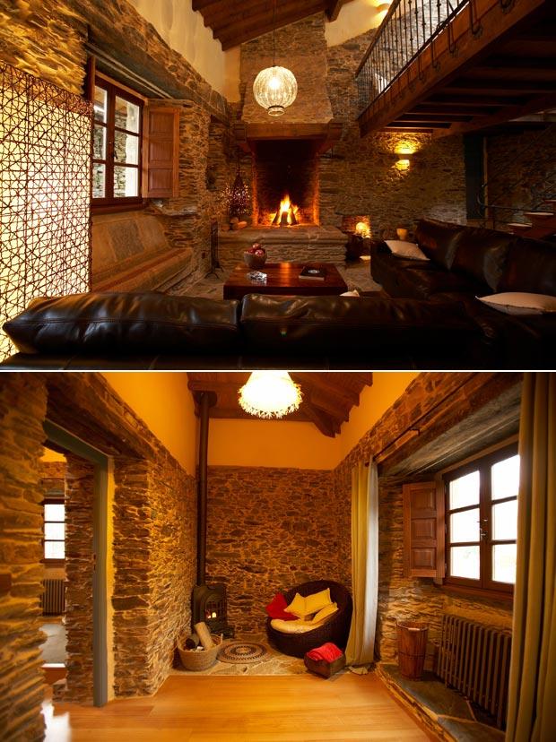 Cinco casitas rurales con chimenea para escaparse un fin for Hoteles con chimenea