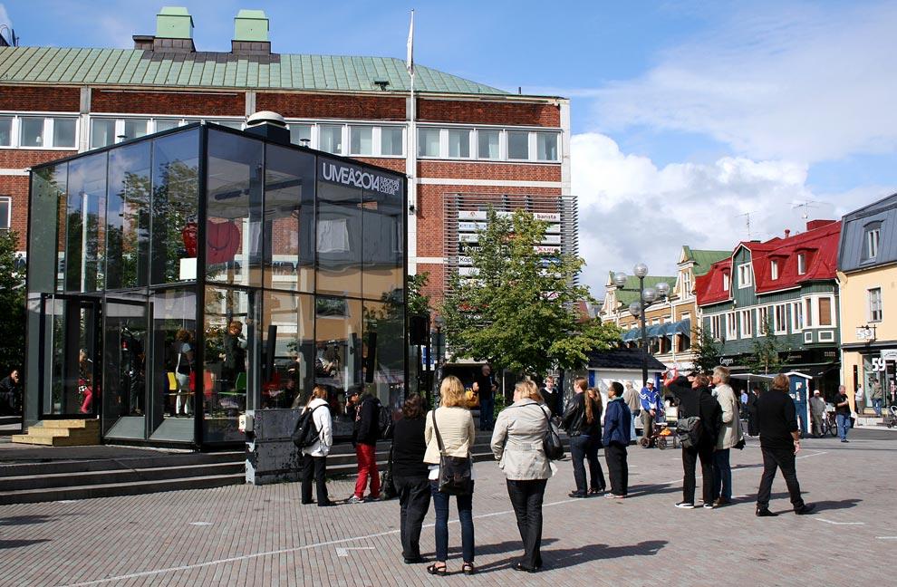 Umeå, jovial, efervescente y cultural por los cuatro costados