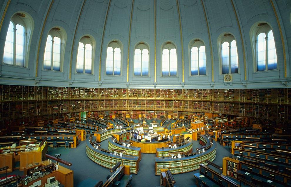 Resultado de imagen de La Sala de Lectura del Museo Británico