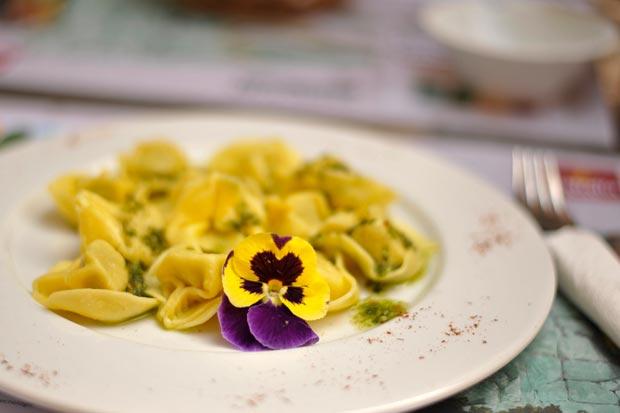 Un festival de flores para oler, ver y ¡comer!