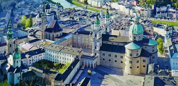 Domquartier o la ruta de los poderosos por Salzburgo