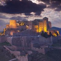 Cardona, un castillo, un pueblo medieval y una gran montaña de sal