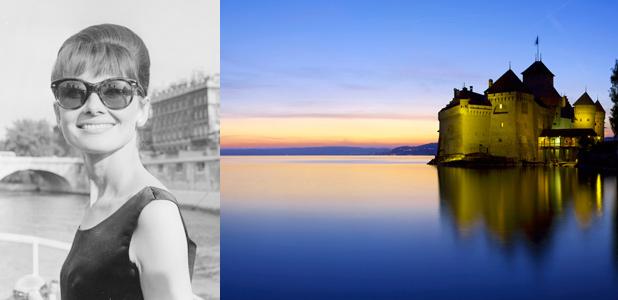 De Audrey Hepburn a Freddy Mercury, dos siglos de glamour en el Lago Lemán