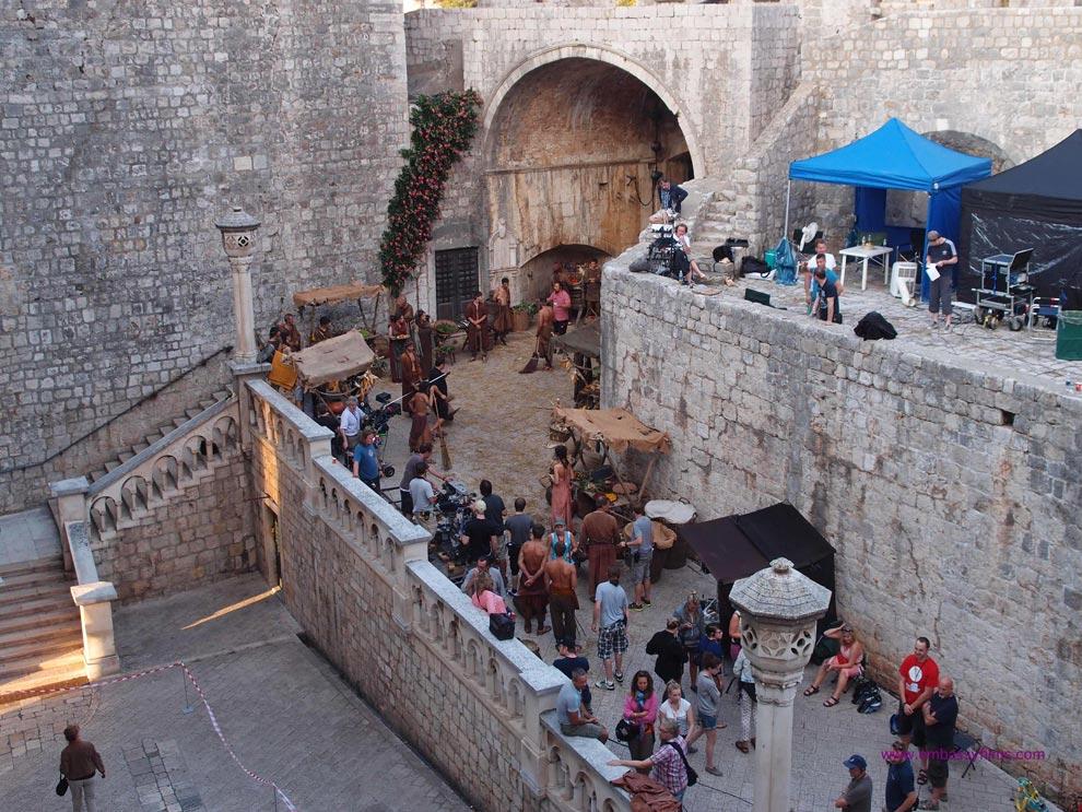 Los escenarios de juego de tronos en croacia for Escaleras juego de tronos