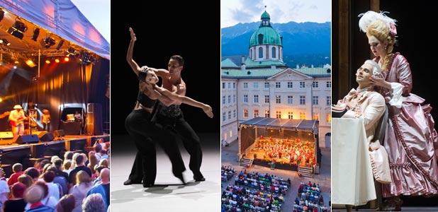 Un verano lleno de festivales en Innsbruck, ¿a cuál te apuntas?