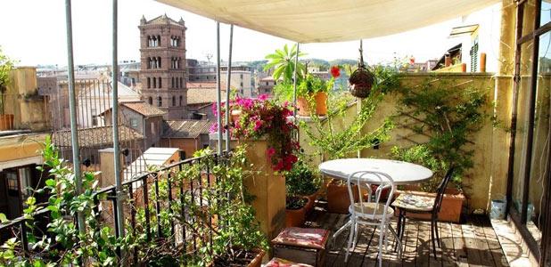 Cinco imprescindibles de Roma para disfrutar desde un ático con vistas