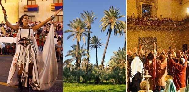 Moros, palmeras y un misterio, Elche en tres monodosis veraniegas