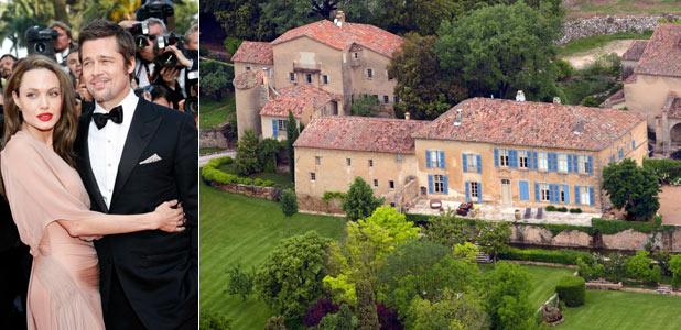 Angelina Jolie y Brad Pitt, enamorados de la Provenza