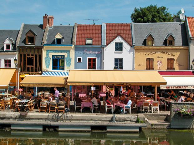Nueve barrios franceses con mucha marcha