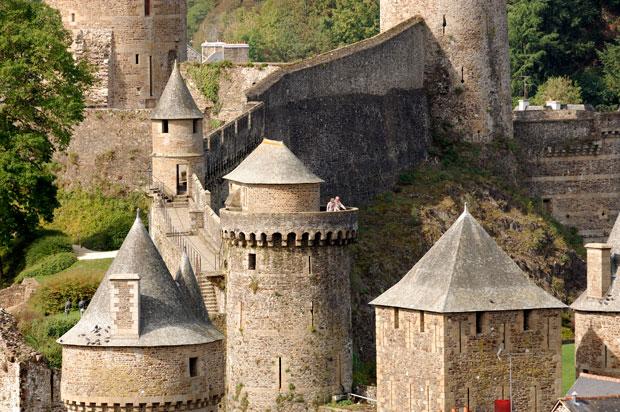 Cinco castillos de Bretaña 'congelados' en otra época