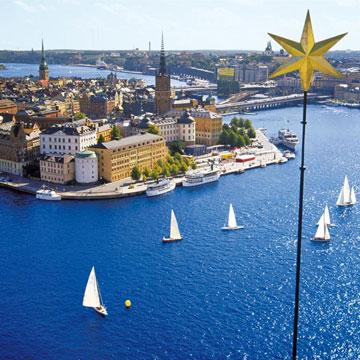 Cuatro capitales del Norte de Europa vistas desde el mar