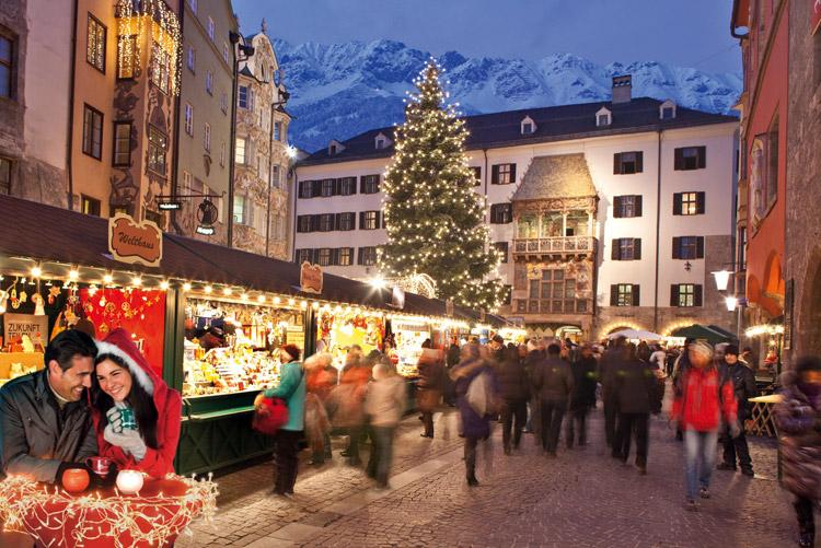 De los románticos mercadillos al desfile de los Krampus, Innsbruck se viste de Navidad
