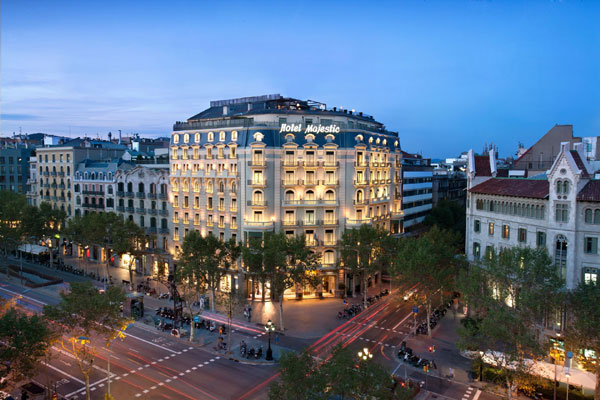 Una navidad de relax y lujo en pleno coraz n de la ciudad for W hotel barcelona spa