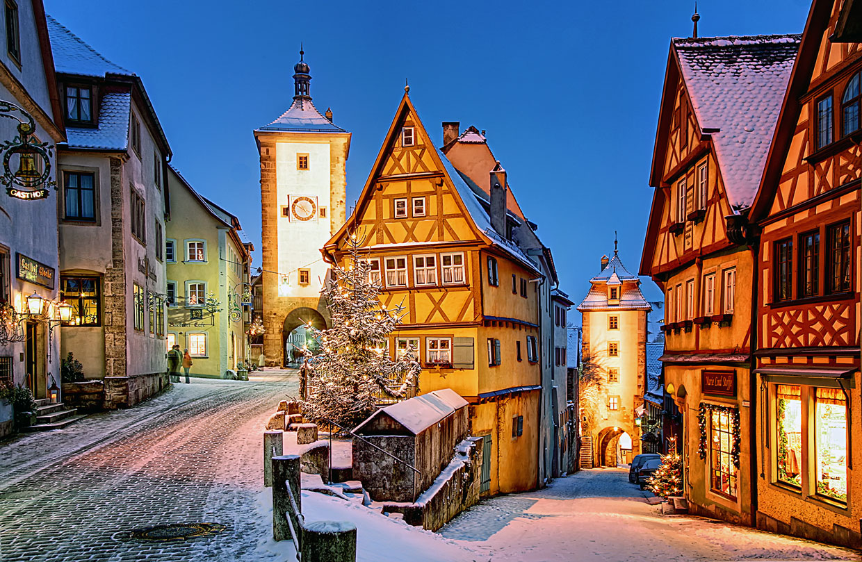 Que nieve, que nieve… Paisajes de Europa aún más bonitos en blanco