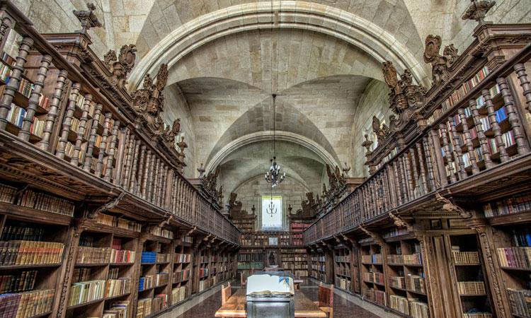 Qu hace alejandro sanz en el monasterio de oseira foto 7 for Biblioteca iglesia madrid