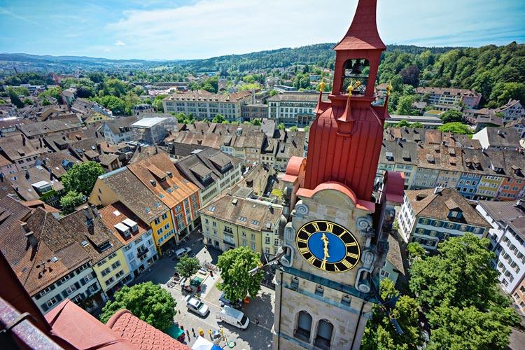 Winterthur, una pequeña ciudad suiza para descubrir en un fin de semana