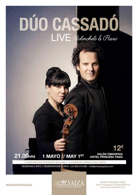 Cena y concierto clásico en el Puente de Mayo